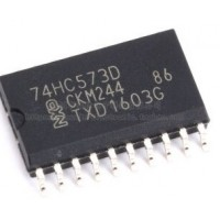 74HC573D  SOIC 20  7.6MM SMD